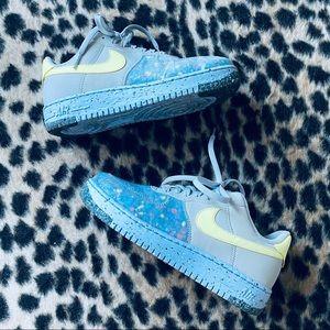 Nike Air Force 1 Crater Sneakers
